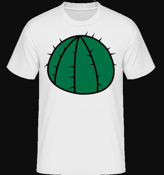 Cactus Comic - Shirtinator Männer T-Shirt - Weiß - Vorn