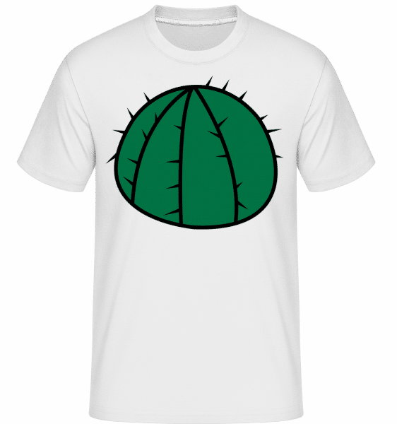Cactus Comic -  T-Shirt Shirtinator homme - Blanc - Vorn