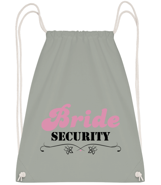 Bride Security - Drawstring Backpack - Anthracite - Vorn