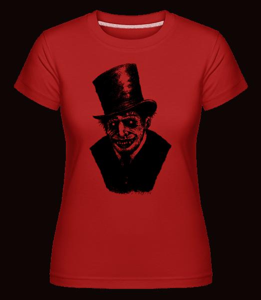 Gentleman Zombie - Shirtinator Frauen T-Shirt - Rot - Vorn