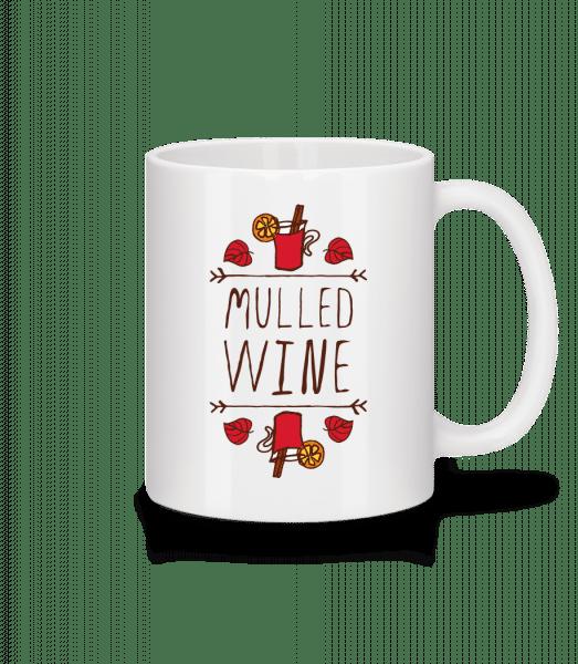 Mulled Wine Sign - Mug - White - Vorn