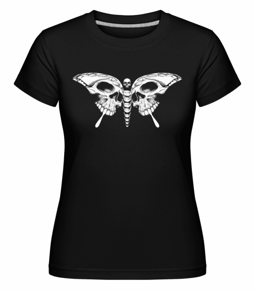 Butterfly Of Death -  Shirtinator Women's T-Shirt - Black - Vorn
