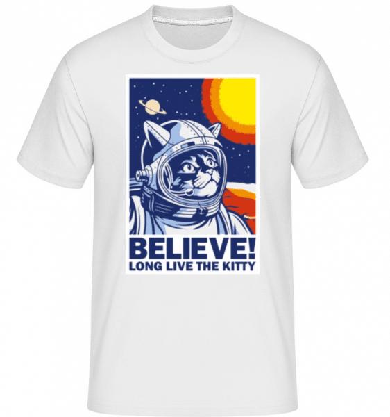 Believe -  Shirtinator Men's T-Shirt - White - Front