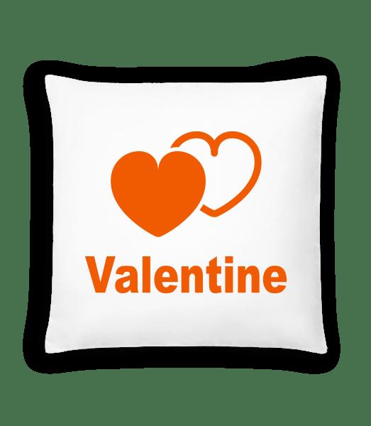 Valentine Heart - Cushion - White - Vorn