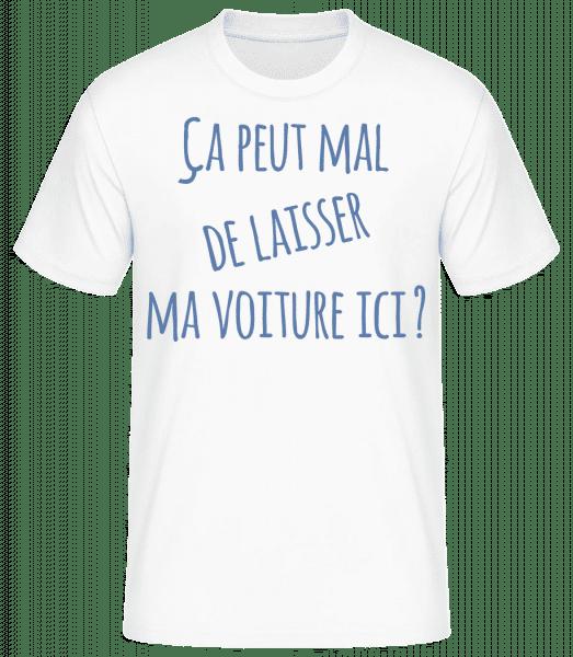 Ça Peut Mal? - T-shirt standard Homme - Blanc - Vorn