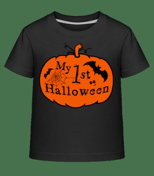 My First Halloween - Dĕtské Shirtinator tričko - Černá - Napřed