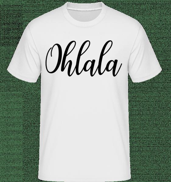 Ohlala -  Shirtinator Men's T-Shirt - White - Vorn