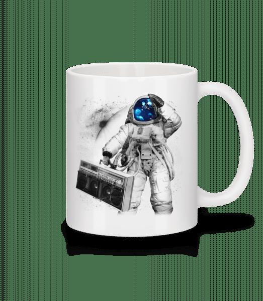Ghettoblaster Astronaut - Mug - White - Vorn