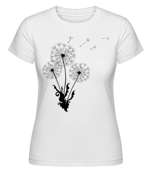 Dandelion Comic -  Shirtinator Women's T-Shirt - White - Front