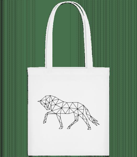 Polygon Horse - Carrier Bag - White - Vorn