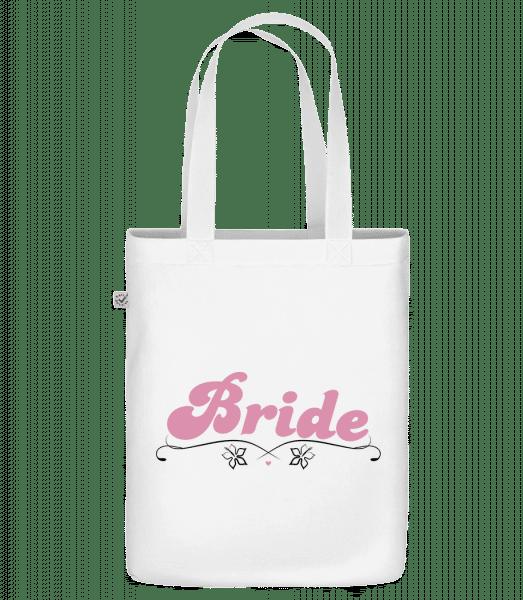 "Bride - Organic ""Earth Positive"" tote bag - White - Vorn"