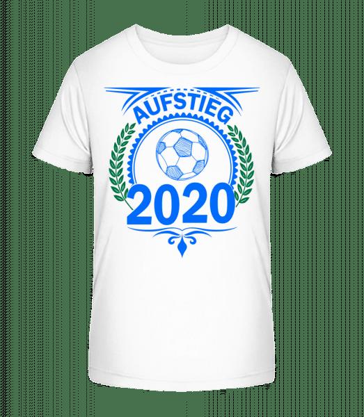 Aufstieg 2020 - Kinder Premium Bio T-Shirt - Weiß - Vorn