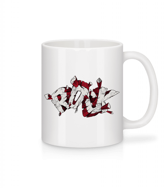 Rock Intense - Mug - White - Vorn