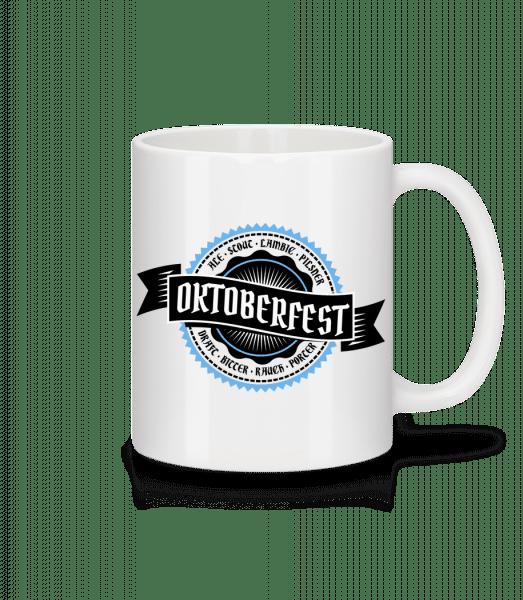 Oktoberfest Draft Bitter - Tasse - Weiß - Vorn