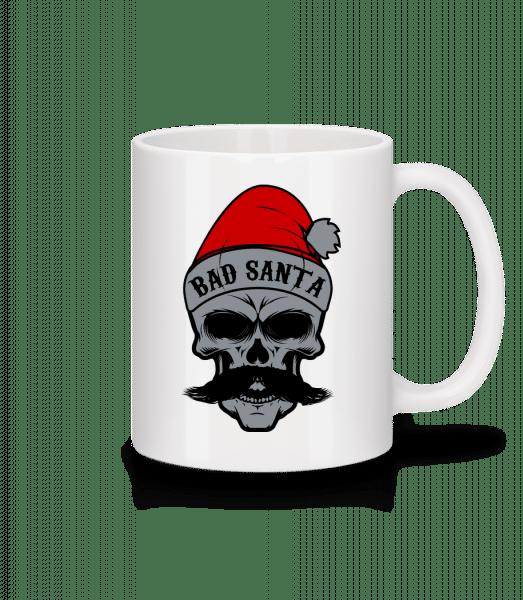 Bad Santa Skull - Mug - White - Vorn