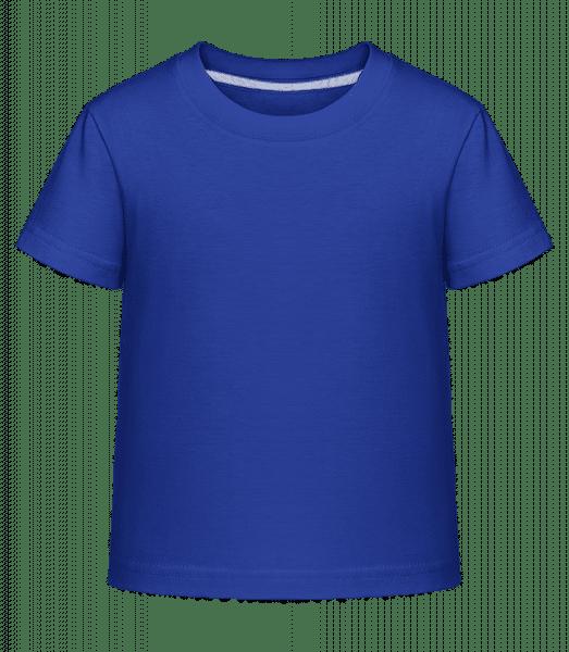 Kid's Shirtinator T-Shirt - Royal blue - Front