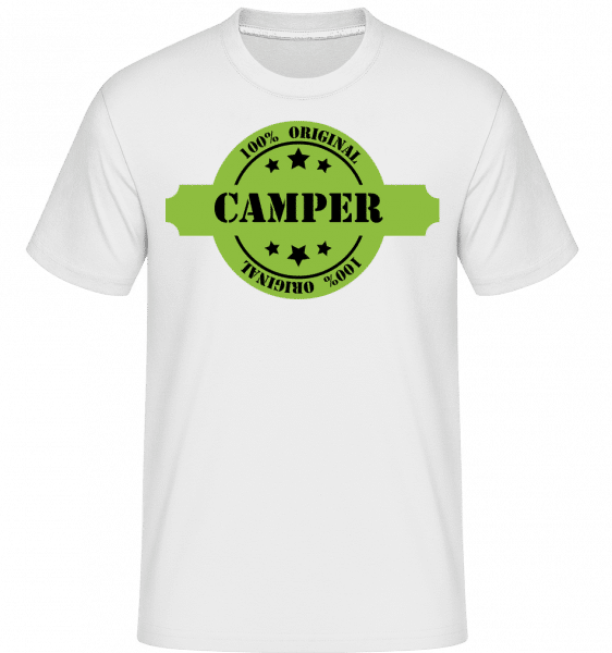 102 % Camper -  Shirtinator Men's T-Shirt - White - Vorn