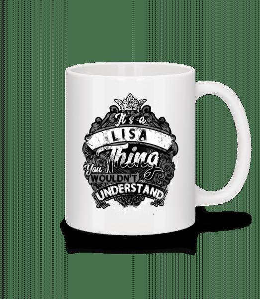 It's A Lisa Thing - Mug - White - Vorn