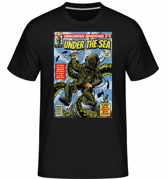 Under The Sea -  Shirtinator Men's T-Shirt - Black - Vorn