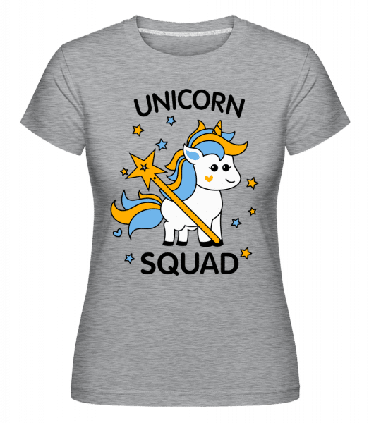 Unicorn Squad -  Shirtinator Women's T-Shirt - Heather grey - Vorn