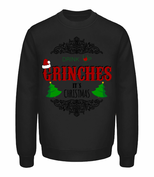 Drink up Grinches - Unisex Sweatshirt - Black - Vorn