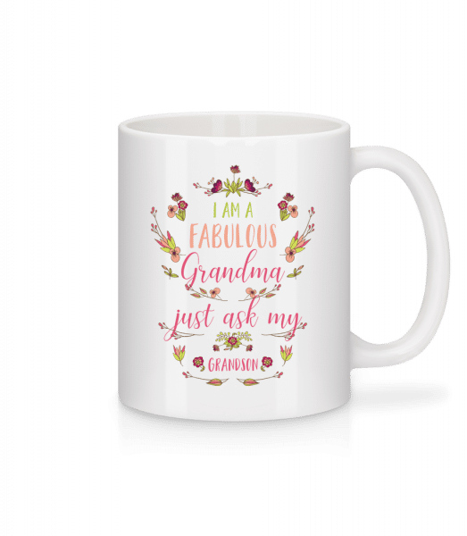 I'm A Faboulous Grandma - Mug - White - Front