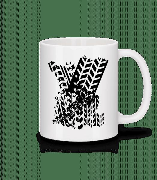 Tires Symbol - Mug - White - Vorn