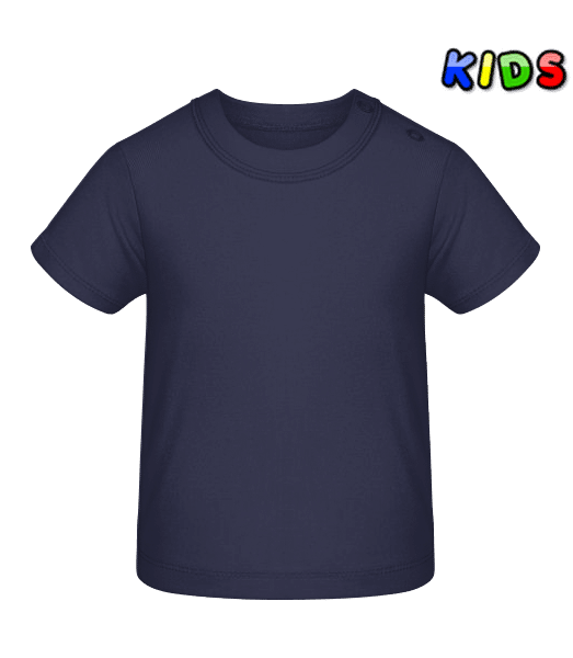 Baby T-Shirt - Navy - Front