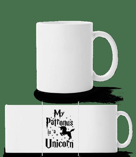 My Patronus Is A Unicorn - Panorama Mug - White - Vorn