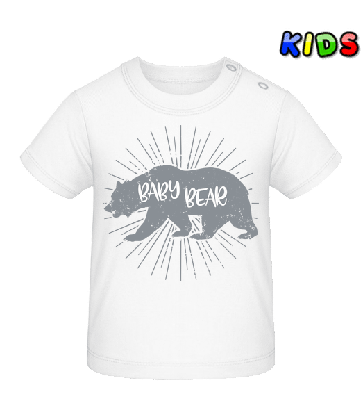 Baby Bear - Baby T-Shirt - White - Vorn