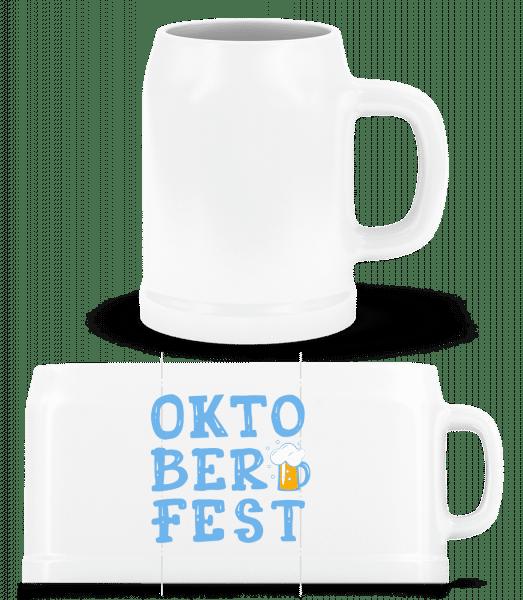 Oktoberfest - Beer Mug - White - Front