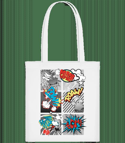 Cartoon Goblins - Carrier Bag - White - Vorn