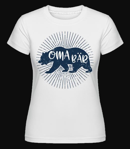 Oma Bär - Shirtinator Frauen T-Shirt - Weiß - Vorn