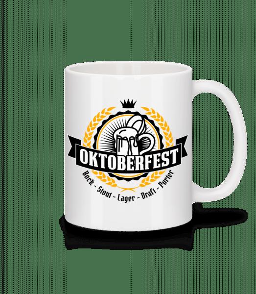 Oktoberfest Maß - Mug - White - Vorn