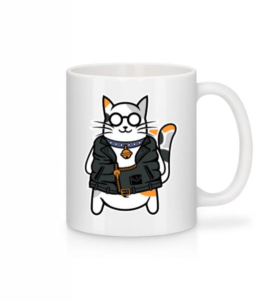 Cool Cat - Mug - White - Front