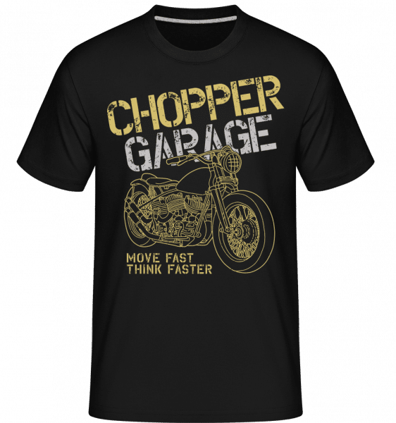 Chopper Garage -  Shirtinator Men's T-Shirt - Black - Vorn
