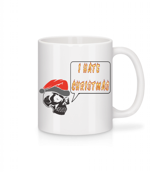 I Hate Christmas - Mug - White - Vorn