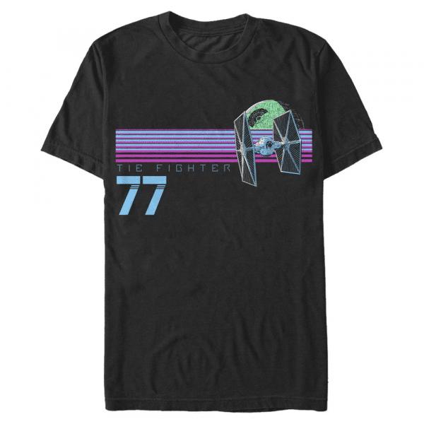 Fighter Club TIE Fighter - Star Wars - Men's T-Shirt - Black - Front