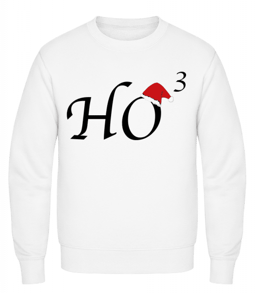 Ho * 3 - Men's Sweatshirt - White - Vorn
