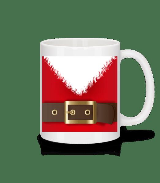 Santa's Belt - Mug - White - Vorn