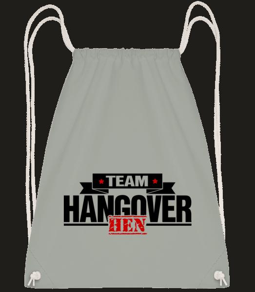Team Hangover - Drawstring batoh so šnúrkami - Antracit - Predné