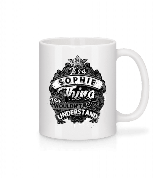 It's A Sophie Thing - Mug - White - Front