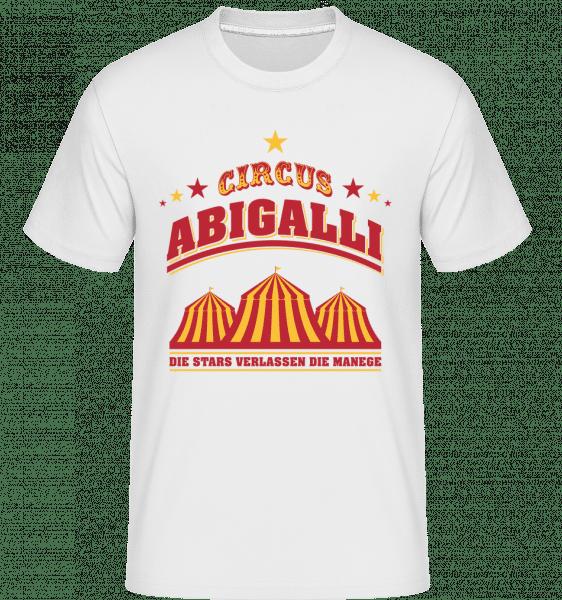 Circus Abigalli - Shirtinator Männer T-Shirt - Weiß - Vorn