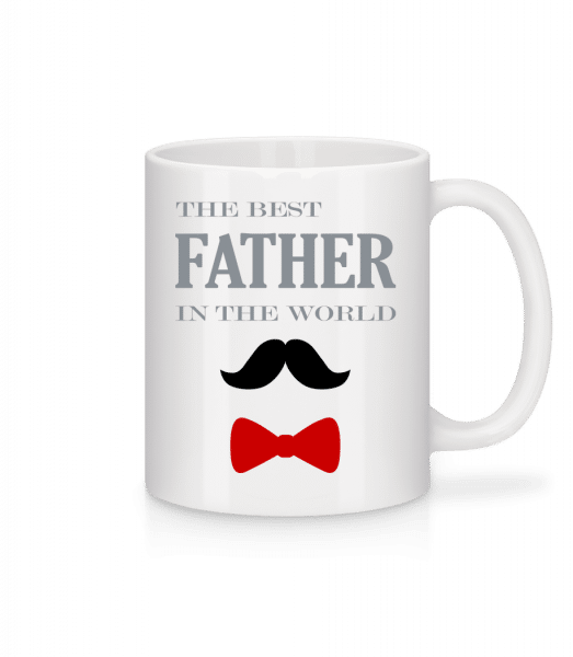 The Best Father In The World - Mug - White - Vorn
