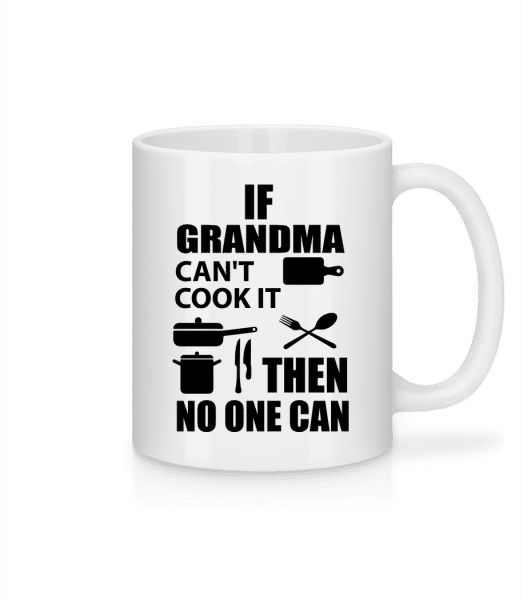If Grandma Can't Cook It - Mug - White - Front