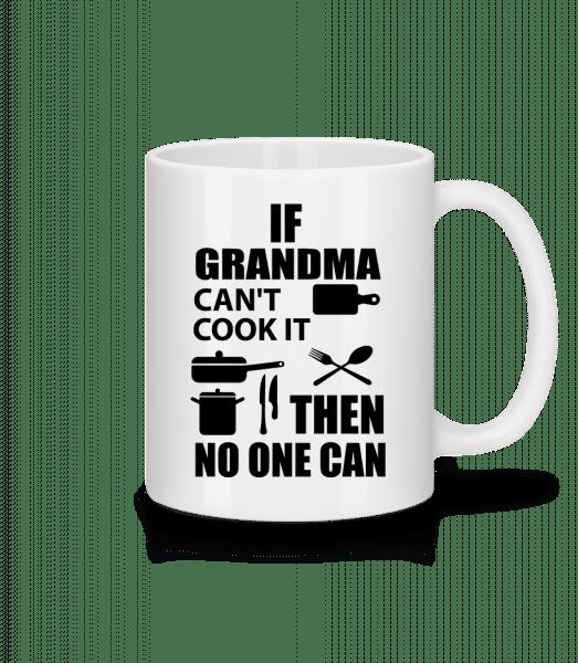 If Grandma Can't Cook It - Mug - White - Vorn