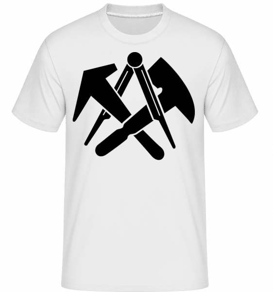 DIY Symbols - Shirtinator Männer T-Shirt - Weiß - Vorn