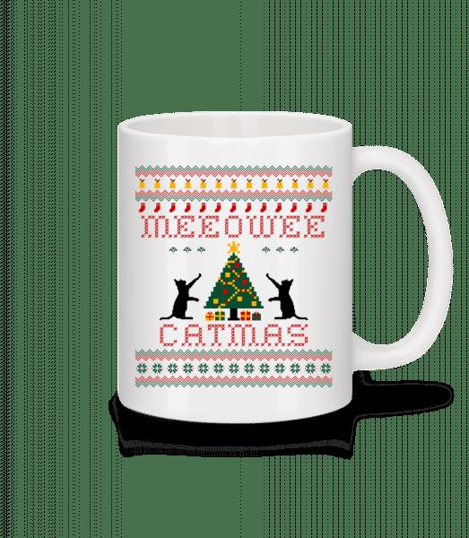 MEEOWEE Catmas - Mug - White - Vorn