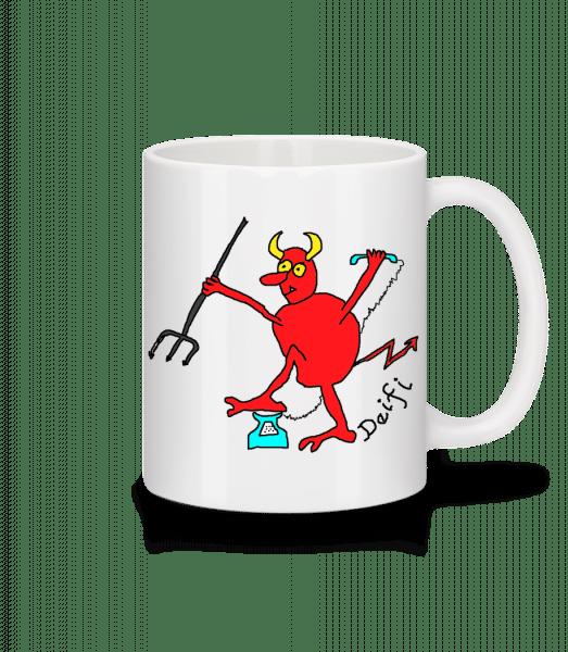 Deifl - Tasse - Weiß - Vorn