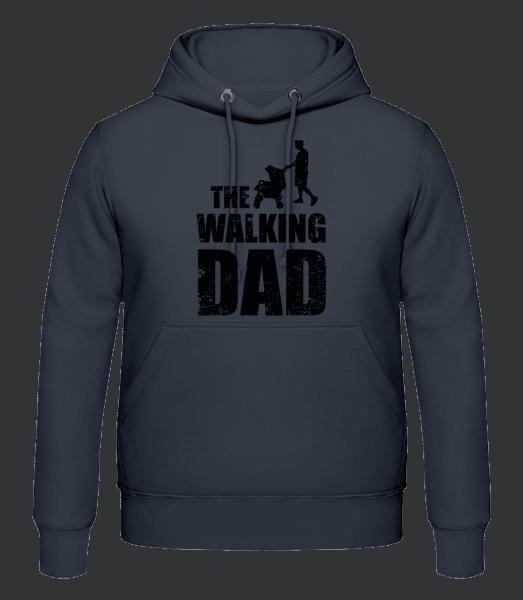 The Walking Dad - Men's Hoodie - Anthracite - Vorn